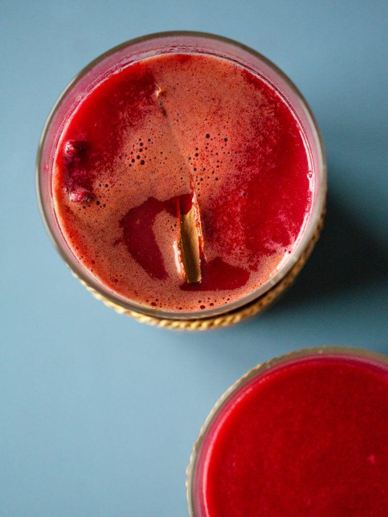 Rote Bete Latte
