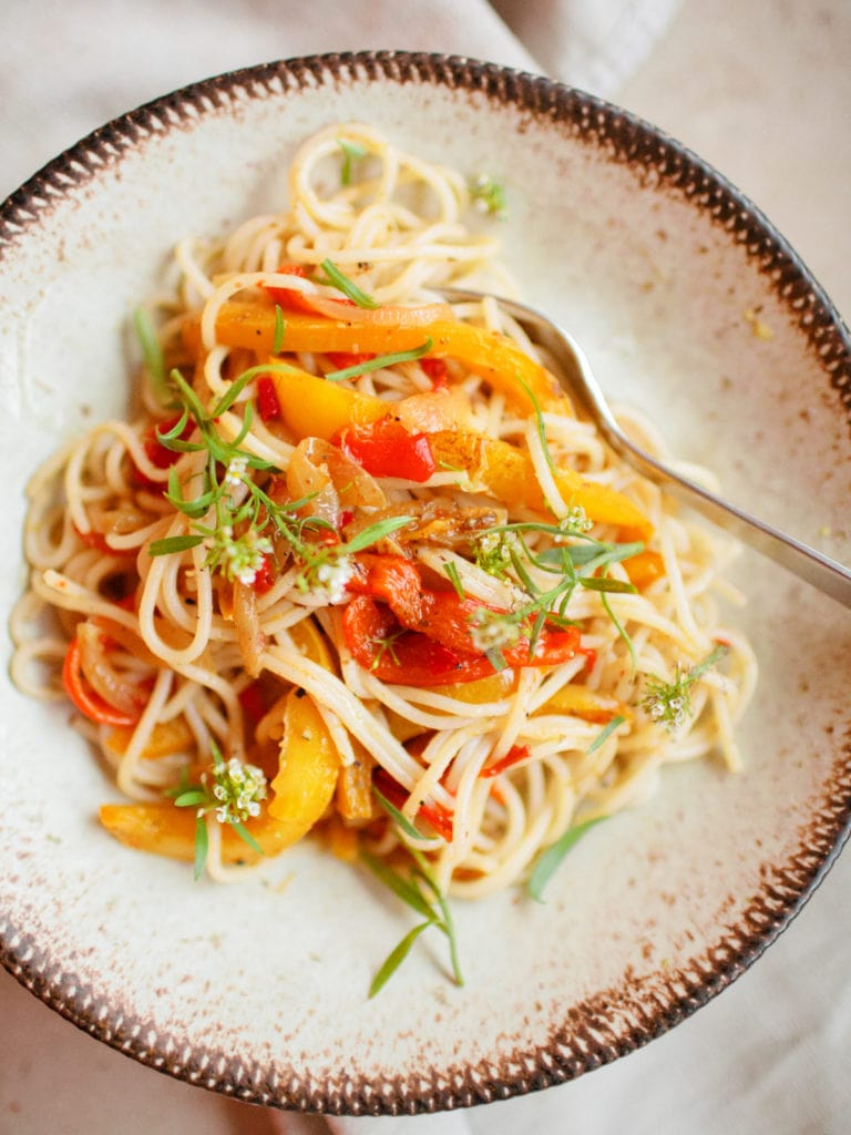 Spaghetti raggi di sole – Sonnenstrahlenspaghetti