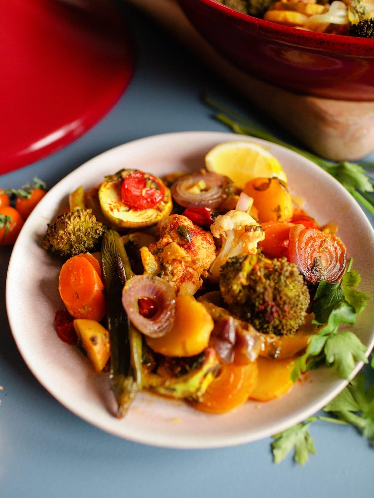 marokkanische Gemüse-Tajine