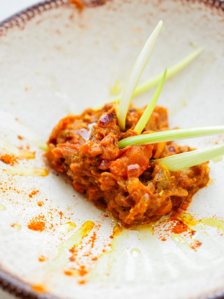 Indian Egg Plant Stir Fry