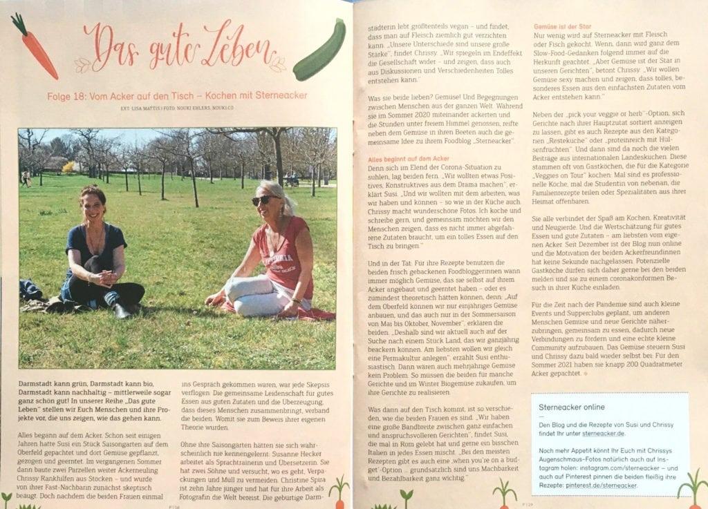 P Magazin Darmstadt Artikel Sterneacker