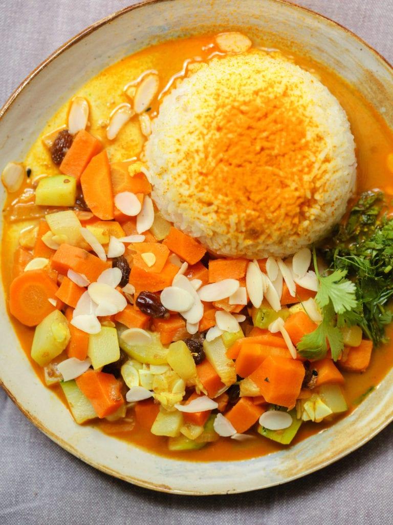 südindisches curry vegan