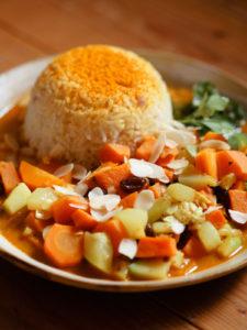 Südindisches Curry